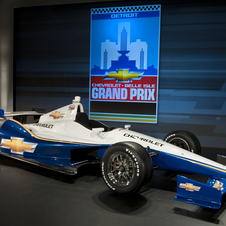 Chevy is powering the top four placed cars in the Indy 500