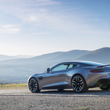 With the introduction of the new Touchtronic III from ZF the new Vanquish and Rapide S saw their performance improve