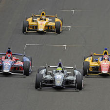Chevrolet took the top four spots in the Indy 500 this year