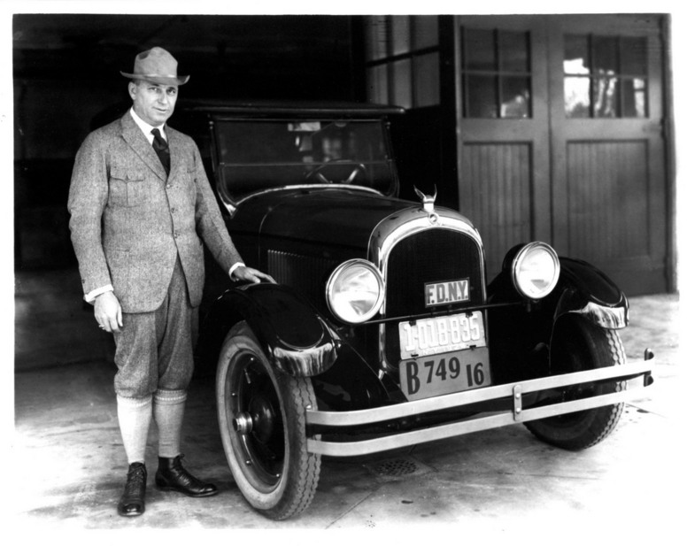 Walter P. Chrysler und der 1924 Chrysler Six