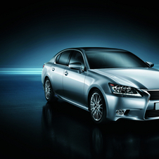 The GS300h has 220hp from its four-cylinder engine and electric motor