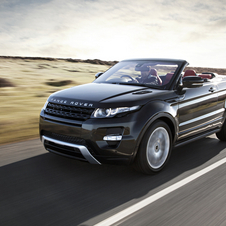 The Evoque Convertible is also due soon.
