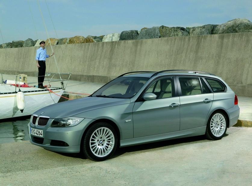 bmw 318i touring automatic :: 2 fotos und 80 technische daten :: de
