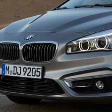The model has some new design features for BMW, but also keeps some of the brands classic cues