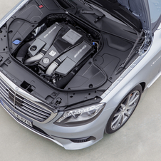 The S63 AMG will get to 100km/h in 4.4 seconds or 4.0 seconds for the all-wheel drive version