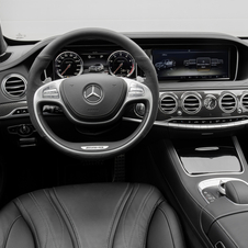 The interior offers a wide array of options including carbon fiber and piano lacquer finishes