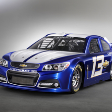Chevrolet is revealing the racecar first