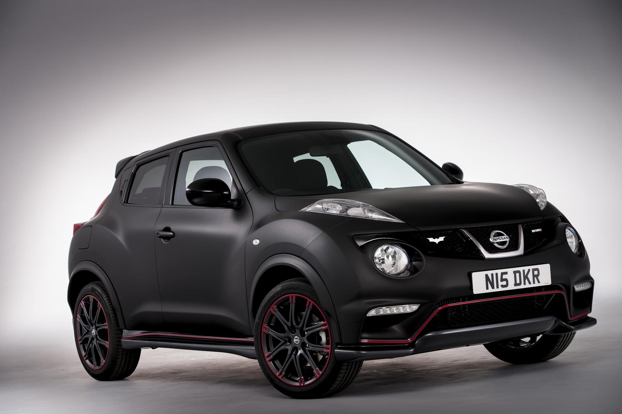 Nissan juke nismo sonderedition f r dark knight rises for Nissan juke schwarz rot