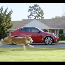 Volkswagen has hit on the combination of cars and dogs as a winner