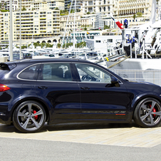 Gemballa also has new 22in wheels for the Cayenne