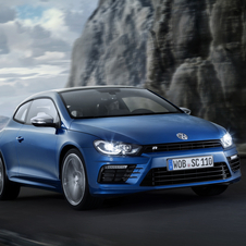 The Scirocco R continues to have a distinctive design