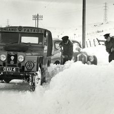 Land Rover Series I Patrol Vehicle
