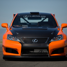 Lexus added extra radiators for the engine, transmission and differential