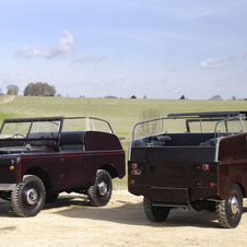Land Rover Series I Royal Review Vehicle