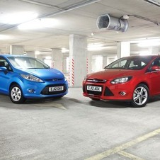 Both the Fiesta and Focus made it into the bestselling cars of 2012, according to Polk.