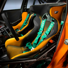 It also gets racing seats and harnesses