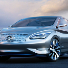 Infiniti plans to offer the car with inductive charging at least in some markets