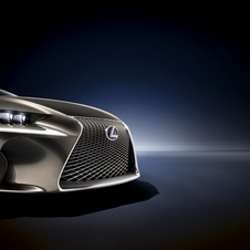 Styling, especially the front, is partially cribbed from the LF-LC concept