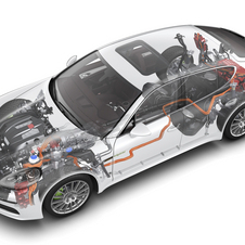 The system on the Panamera S E-Hybrid will be improved for the 918