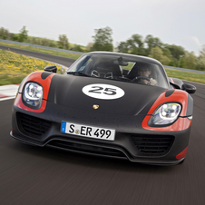 The 918 uses two of the hybrid modules - one on each axle