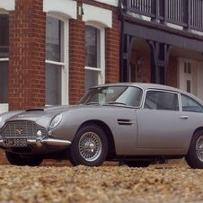 The DB5 was built from 1963 to 1965