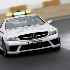 It will also show the 2008 Formula 1 safety car SL63 AMG
