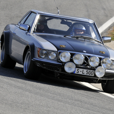 Mercedes built the 500 SL to rally in 1981, but it never competed
