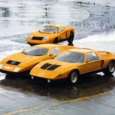 The C111 used a 4 rotor Wankel engine in a very aerodynamic body