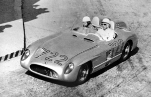 The W196S 300 SLR won the 1955 World Sports Car Championship