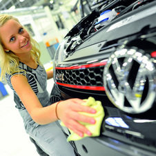 This is the fifth time VW has given its apprentices a chance to work on their own GTI