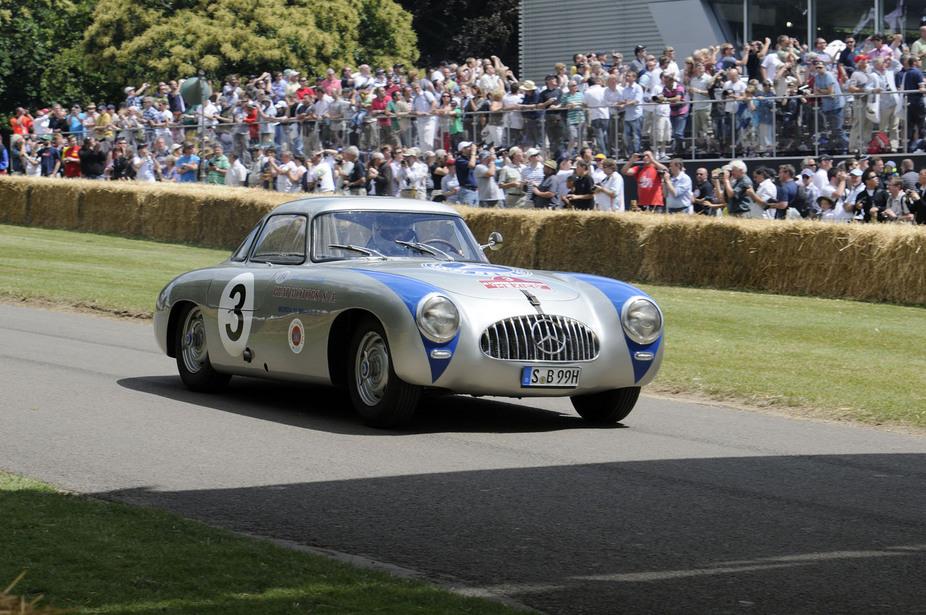 Mercedes schickt vier Rennwagen zum Goodwood Festival :: Nachrichten ...