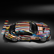 BMW M3 GT2 Art Car Jeff Koons