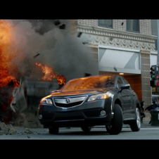 Acura Shows NSX-like Convertible in this Summer's Avengers Movie