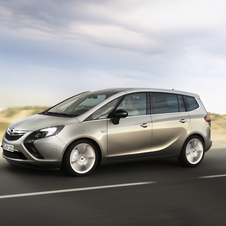 The Zafira will also have a shared PSA model