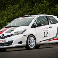 The Yaris R1A is an introductory really car with 98hp