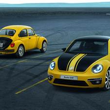 The Beetle GSR is inspired by a special edition Beetle from 40 years ago