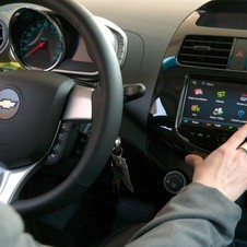 Chevrolet has also been incorporating infotainment systems in their entry-level Spark