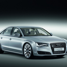 The A8 Hybrid will be on sale later this year along with the A6 Hybrid