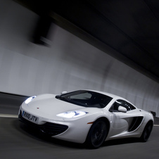 The improved power and transmission should help the MP4-12C compete in the super car market