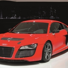 The R8 E-tron is a pure electric car
