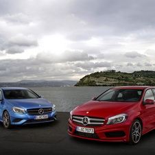 Mercedes Meeting 2017 Emissions with new A-Class and B-Class