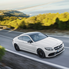 The C63 S AMG Coupé will be the most powerful in its class when it hits the market, surpassing its most direct rivals