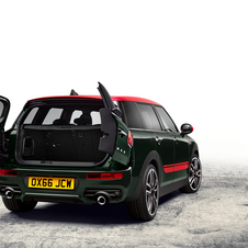 Exterior changes have been introduced on the Clubman JCW in order to give it a more aggressive look