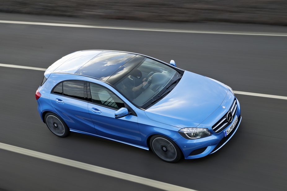 mercedes-benz a 180 cdi blueefficiency edition :: 5 fotos :: de