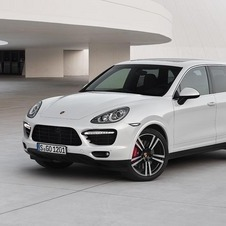 The Cayenne is the brand's best selling car
