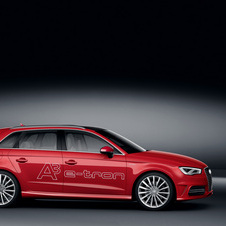 The A3 e-tron combines a 1.4 TSI and an electric motor