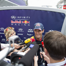 Webber is among the most experienced drivers in F1 today
