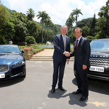 It is JLR's first factory in Brazol