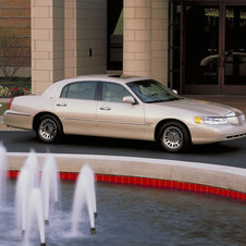 Lincoln Town Car Cartier L