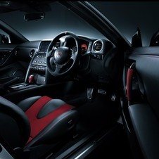 The interior gets carbon fiber and Alcantara accents